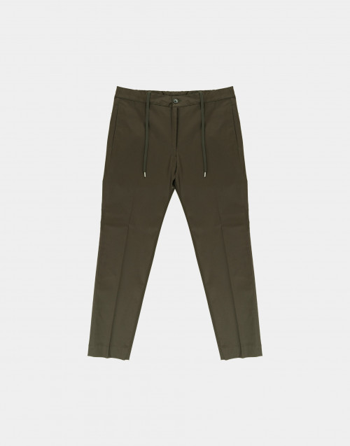 Olive color trousers