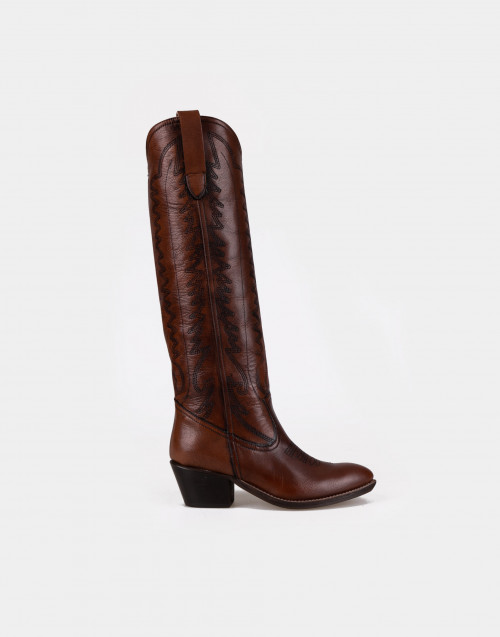 Brown Rebecca texan boot