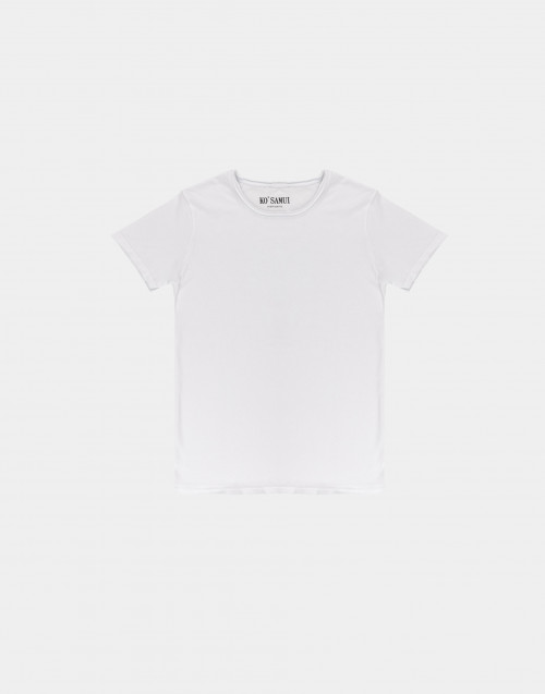 T-shirt in cotone bianca