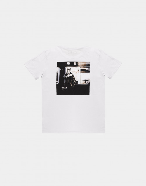 Back Bowie print t-shirt
