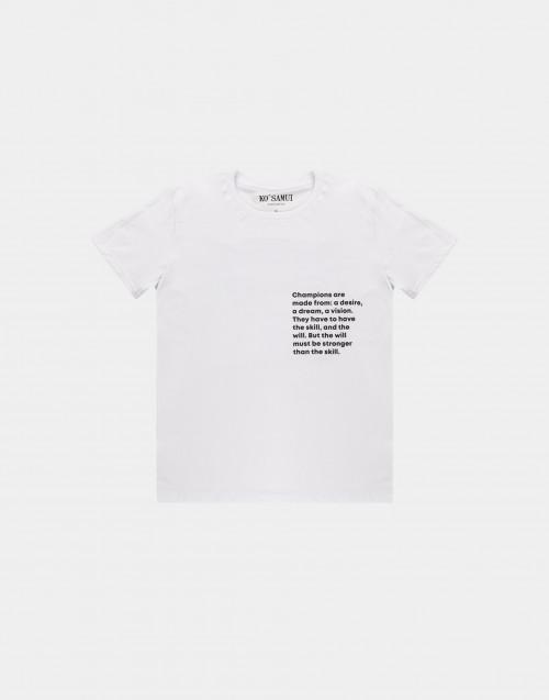 Back Muhammad Ali print t-shirt