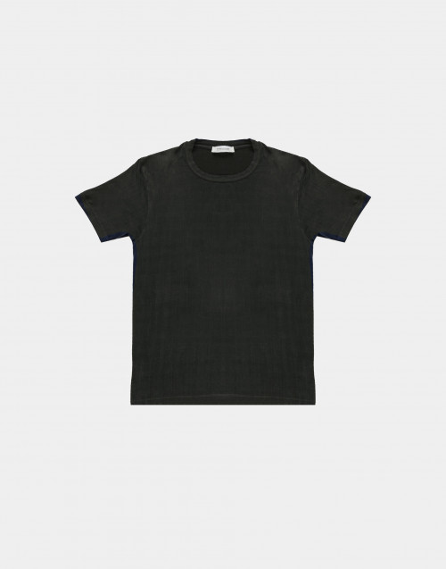 Anthracite silky t-shirt