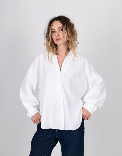 Camicia bianca over