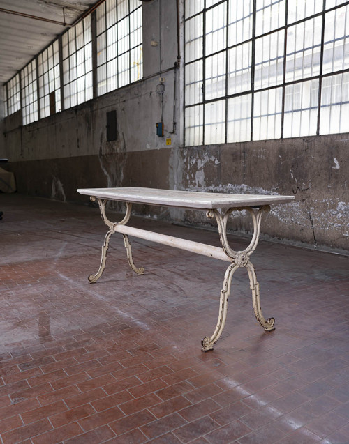 Gustavian wooden console