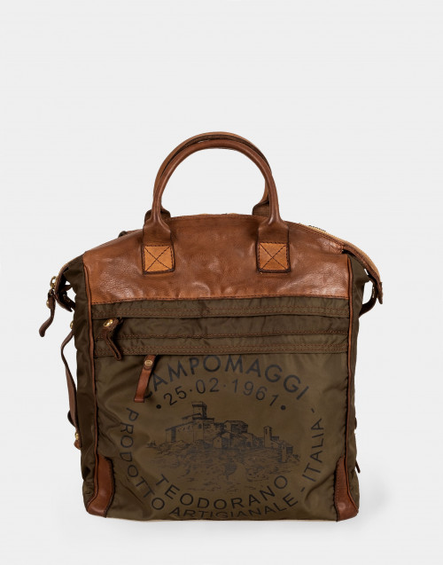 Zaino borsa vacchetta stampa c014230 vem