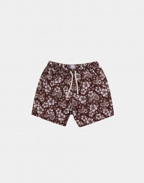Man swim short with floreal print