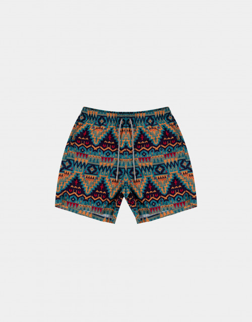 Multicolour man swim short