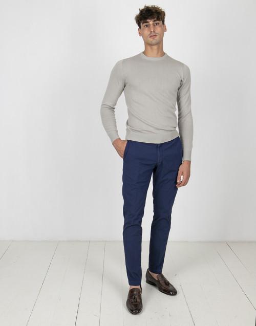 Pantalone classico blu