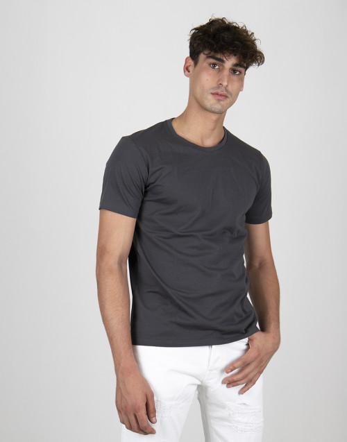 T-shirt color grigio