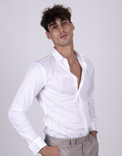 Slim fit white shirt