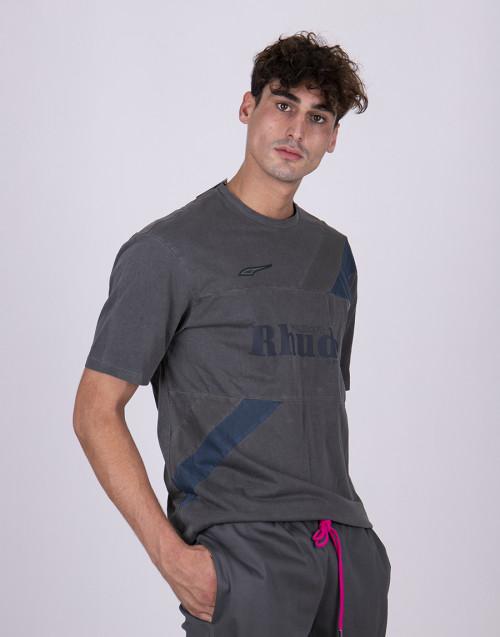 T-shirt grigia Puma X Rhude