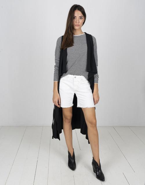 Black long Ixia vest