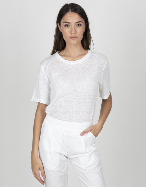 White linen T-Shirt