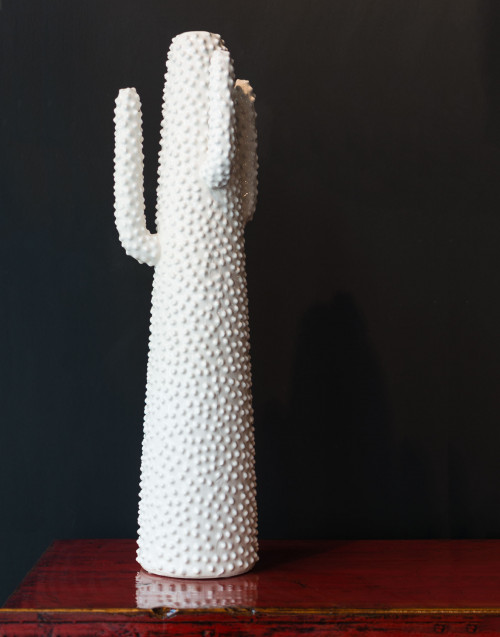 Vaso Porta Fiori Bianco 82cm