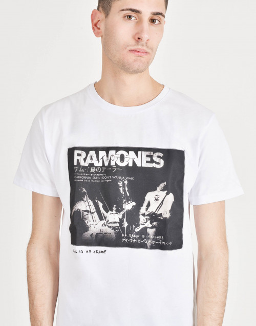 """Ramones"" cotton T-shirt"