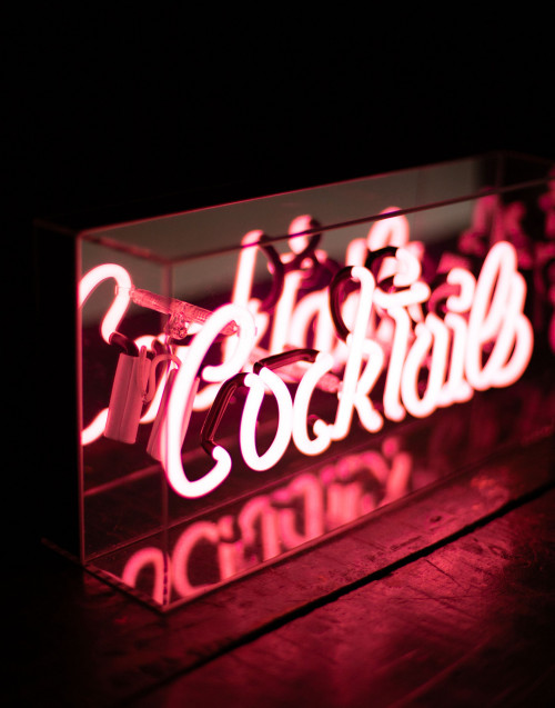"""Cocktails'' neon light"