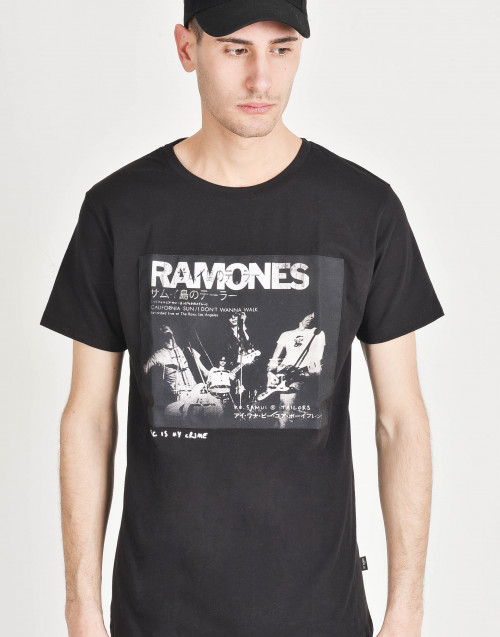T-shirt in cotone Ramones