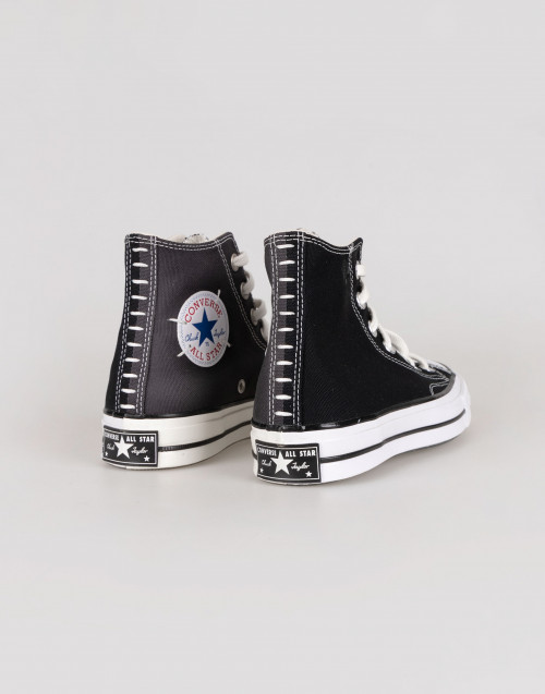 "Black Converse chuck Taylor ""cut and sew"""