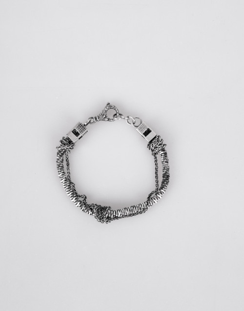 Evolution & chain bracelet