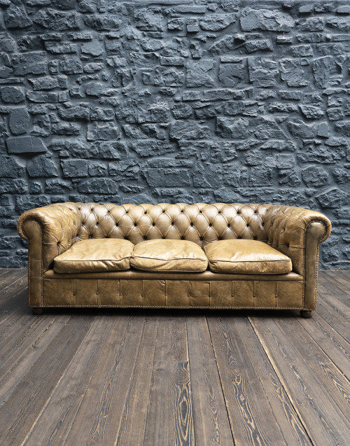 Chesterfield sofa three seats