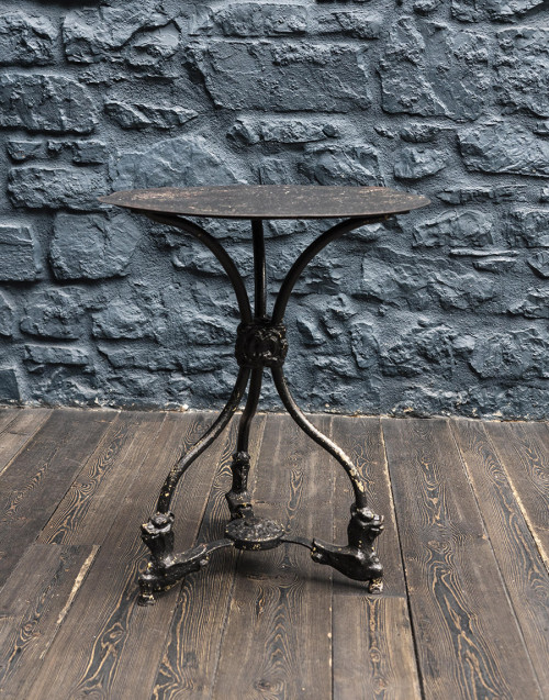Three legged table