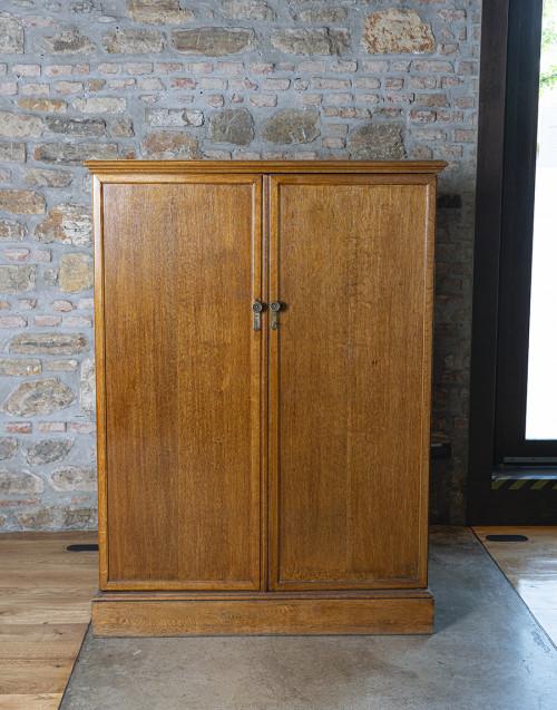Mahogany wood compacton