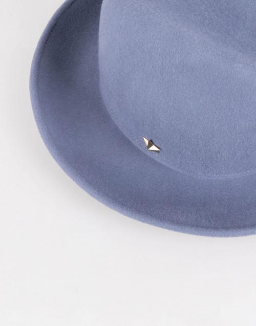 Powder blue wool Sean hat