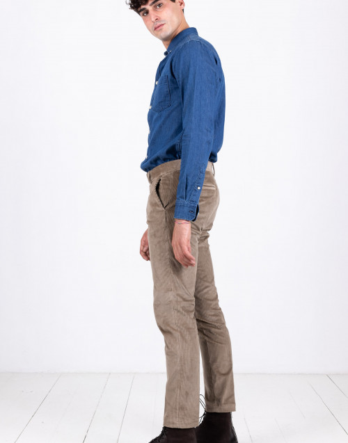 Sand colour corduroy trousers