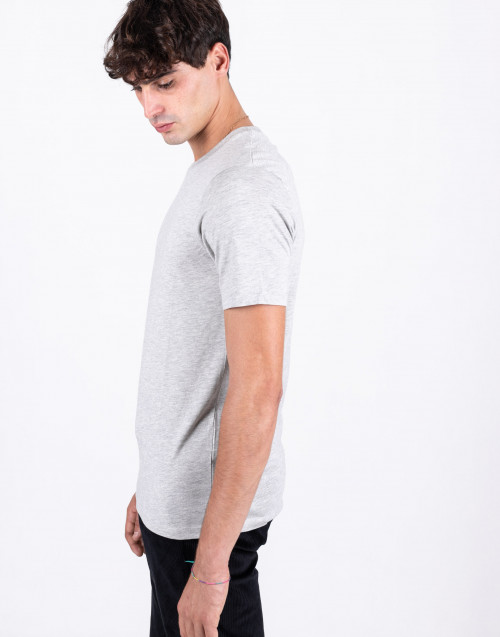 Gray cotton t-shirt