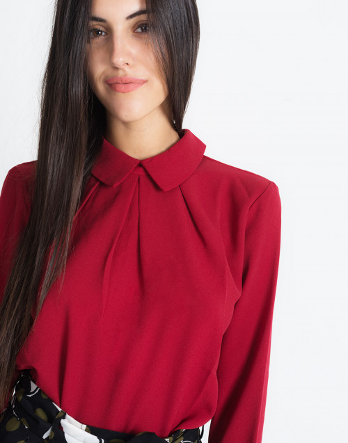 Blusa Nives Rosso