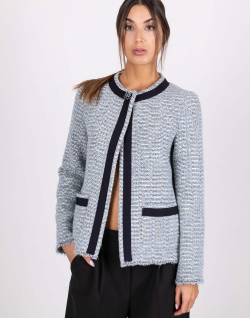 Violaine wool lurex jacket