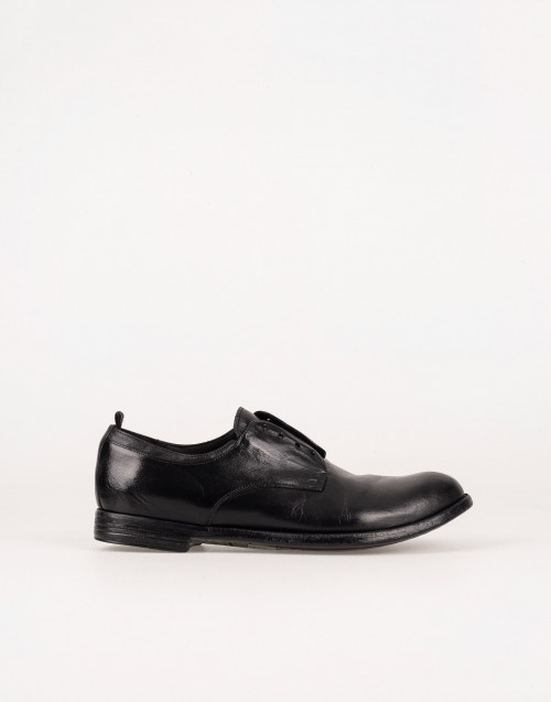 Laceless derby shoes
