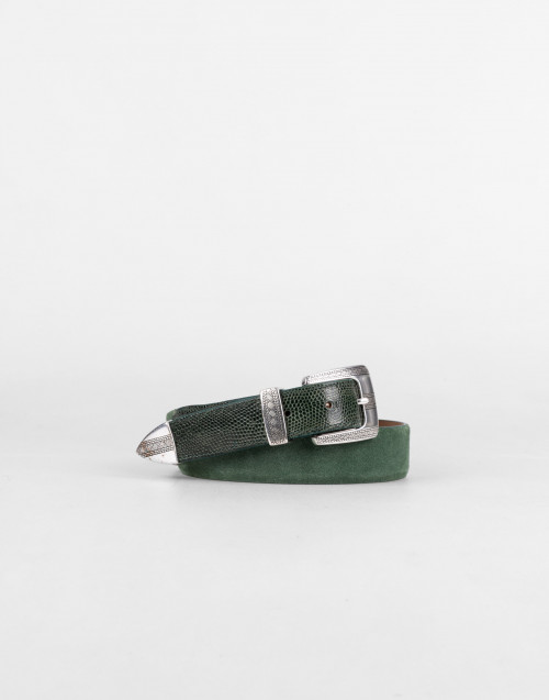 Green Way Of Living Leather Belt