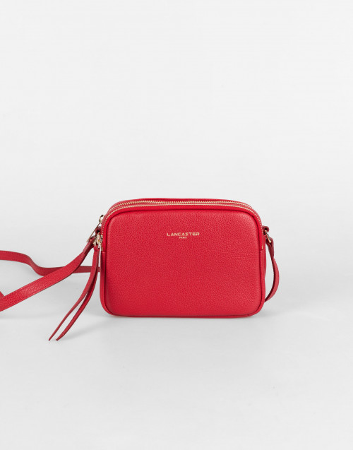 Red small Dune camera bag
