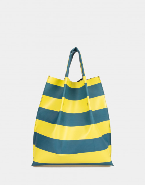 Multicolor rubber shopping bag