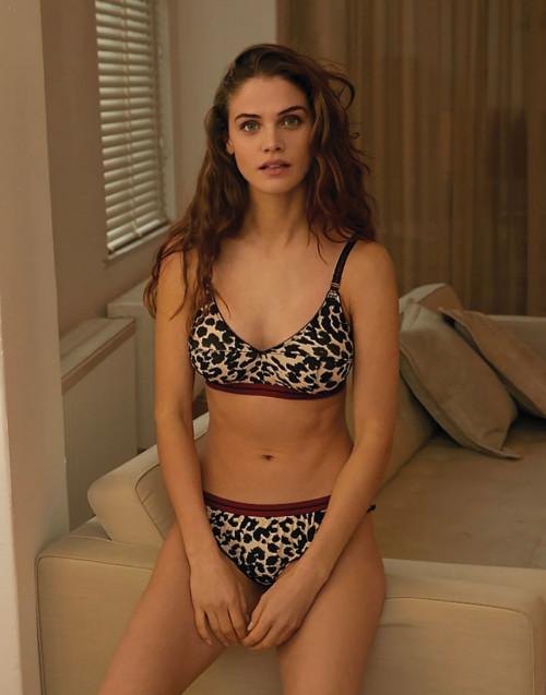 Slip Ellie Biscotti - leopardato