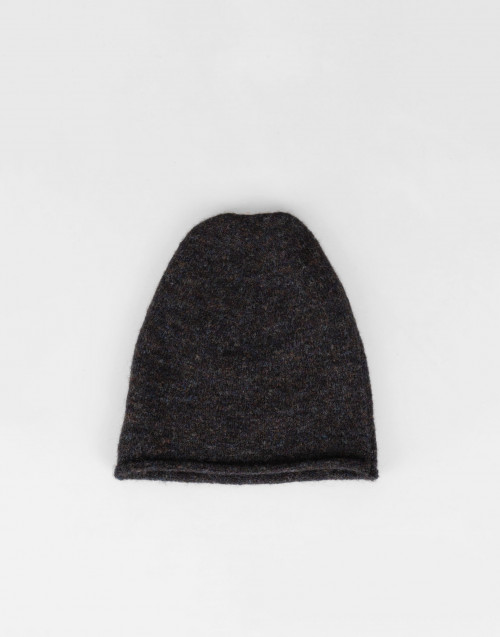 anthracite cotton cap