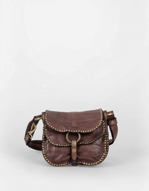 """Flavia"" cognac shoulder bag"