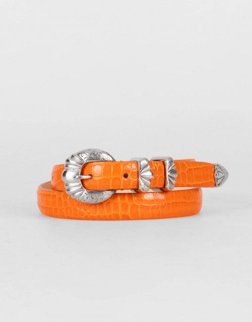 Orange Versailles belt