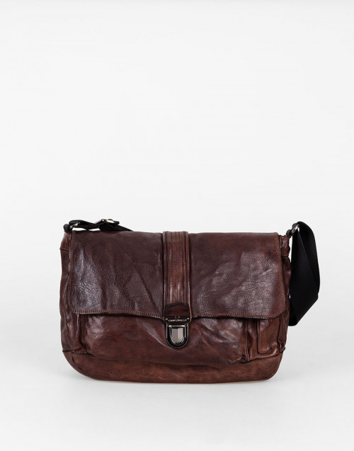 """Alessandro"" brown shoulder bag"