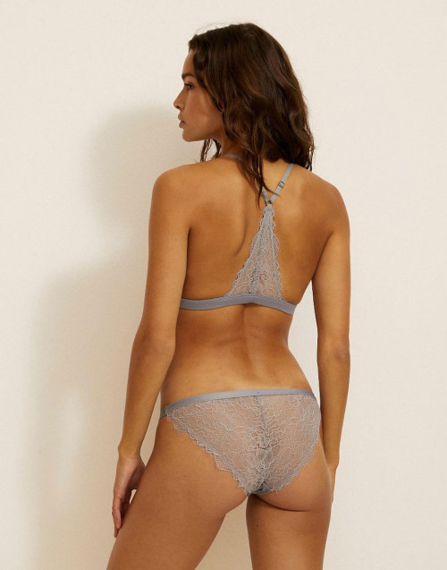 Wild Rose Brief Blue