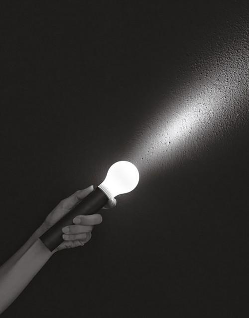 Lampada torcia Dove?? nero