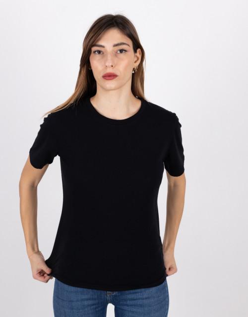 T-shirt basica nero