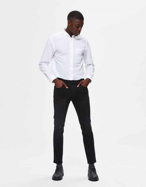 Black slim fit jeans