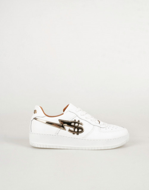 George V sneakers in white leather