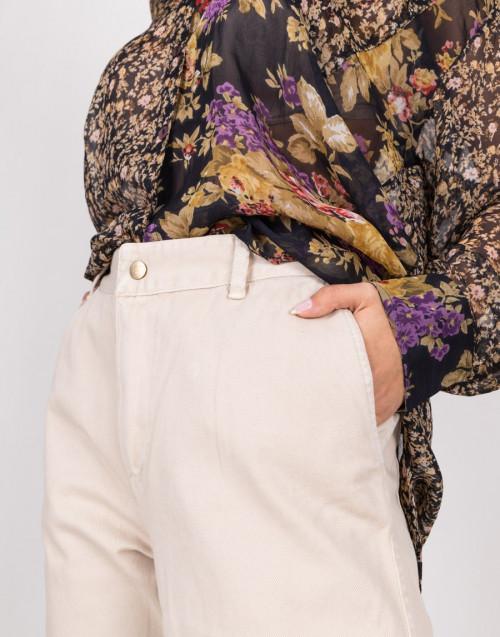 "Jeans ""Gabardina"" beige"