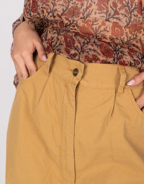 Pantalone palazzo color cammello