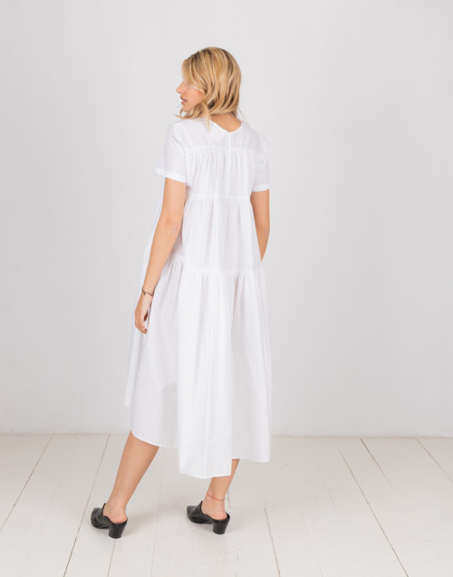 "White smock dress ""Lola"""