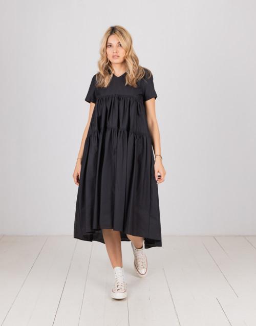 "Black smock dress ""Lola"""