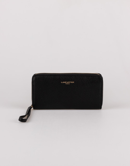 Large black wallet